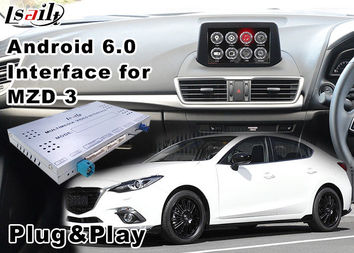 android 6 0 car multimedia navigation system for mazda 3. Black Bedroom Furniture Sets. Home Design Ideas