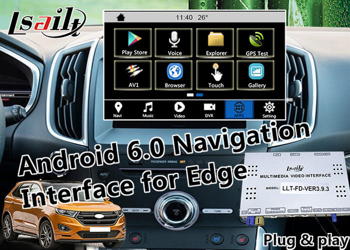 Plug Play Android Auto Interface For Ford Ecosport Focus Edge With Wifi Mirrorlink