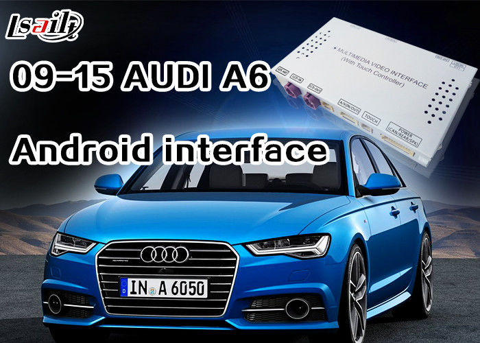 Android Navigation Multimedia System for 3G MMI Audi A6L, A7