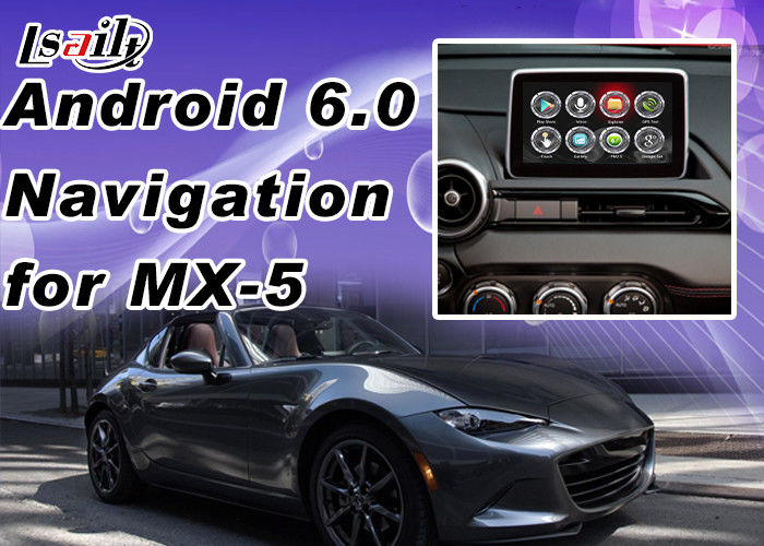 Mzd Connect Android Auto >> Plug&Play Android Auto Interface For Mazda MX-5 2 3 6 CX -3 CX -5 Support Apps Miracast WIFI ...