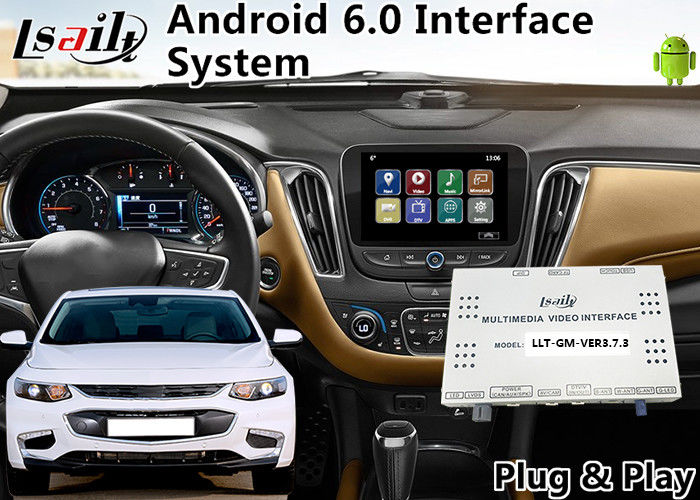 android 6 0 auto interface for chevrolet malibu equinox. Black Bedroom Furniture Sets. Home Design Ideas