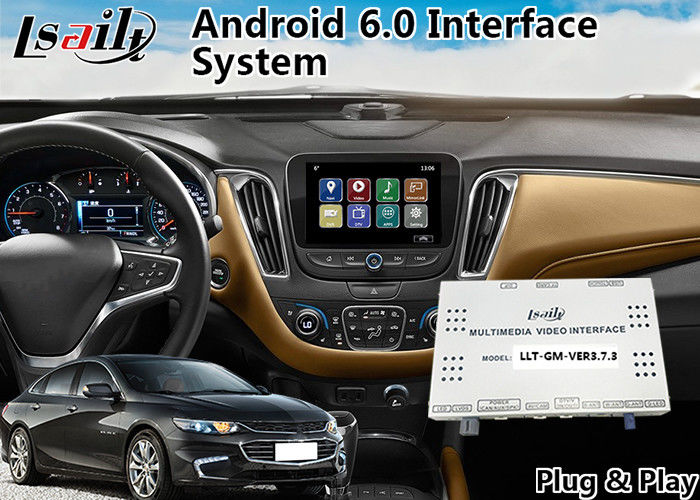 Chevrolet Malibu Android 6 0 Navigation Video Interface for Mylink