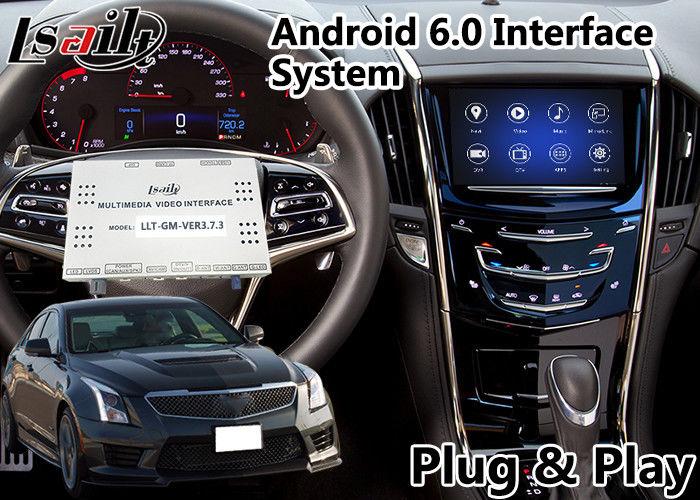 Android 6 0 Navigation Interface for Cadillac ATS / XTS with