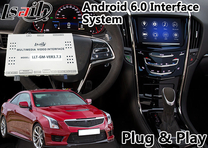 Android 6 0 Multimedia Video Interface for Cadillac ATS
