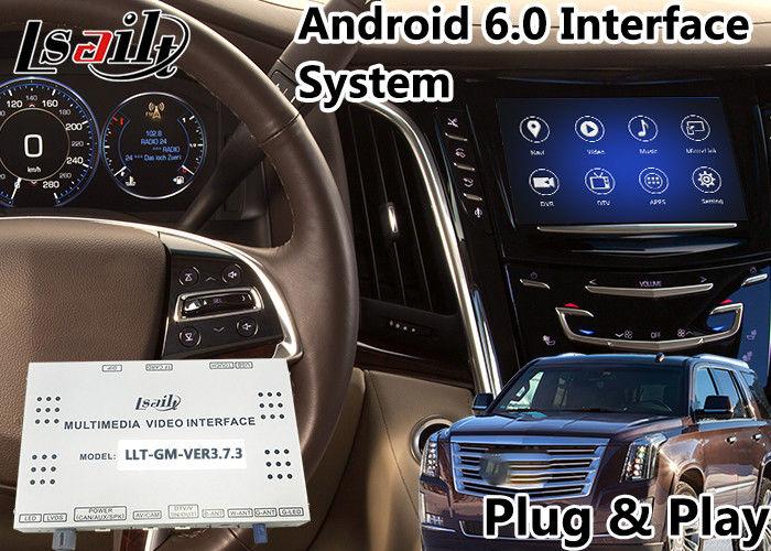 Cadillac Escalade Android 6 0 Auto Interface Navigation