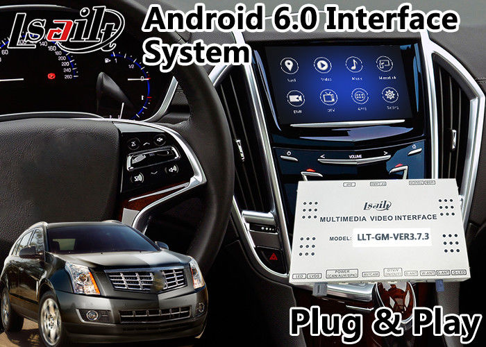 Android 6 0 Car GPS Navigation Video Interface for Cadillac