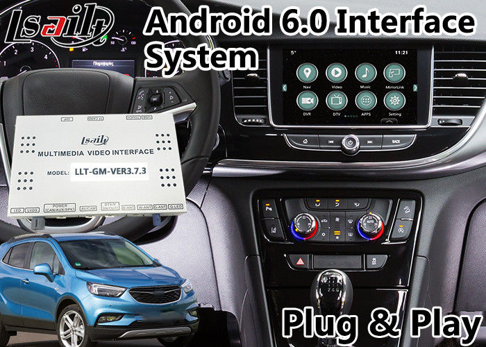 Android 6 0 Navigation Video Interface for Opel Mokka / Crossland X