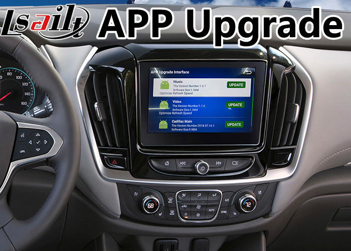 Android 9.0 Multimedia Video Interface for Chevrolet Traverse / Camaro / Suburban / Tahoe / Silverado Mylink System