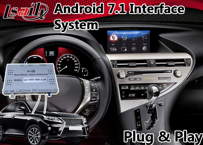 Android 7 1 Interface Navigation Box for 2012-2015 Lexus RX 450h