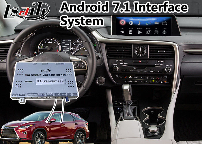 Android 7 1 Navigation Interface System for 2015-2018 Lexus