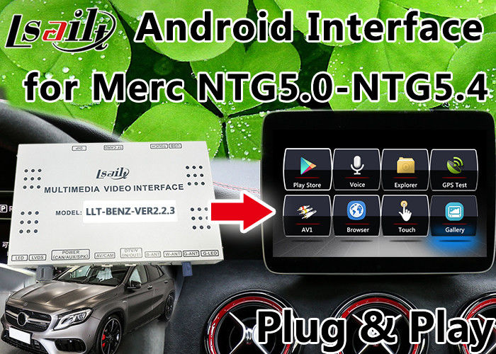 Android 6 0 Mercedes Benz Navigation System , Car Video Interface