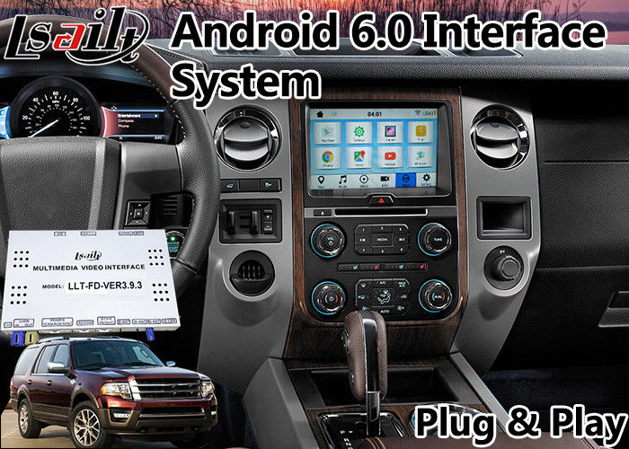 Expedition Android Auto Interface for Sync 3 system YouTube, Waze