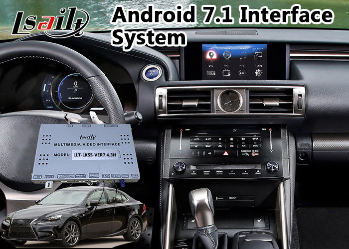 Android 7 1 Video Integration Gps Navigator Box For Lexus Is 300h Mouse Control Support Headrest