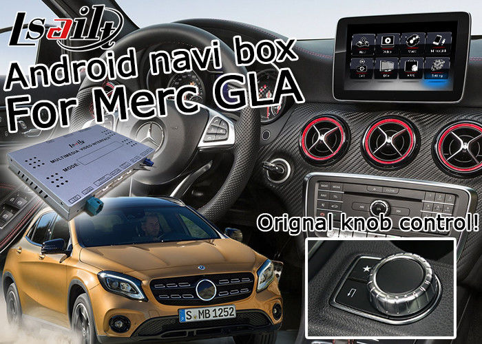 Video Interface Car Navigation Box For Mercedes Benz Gla