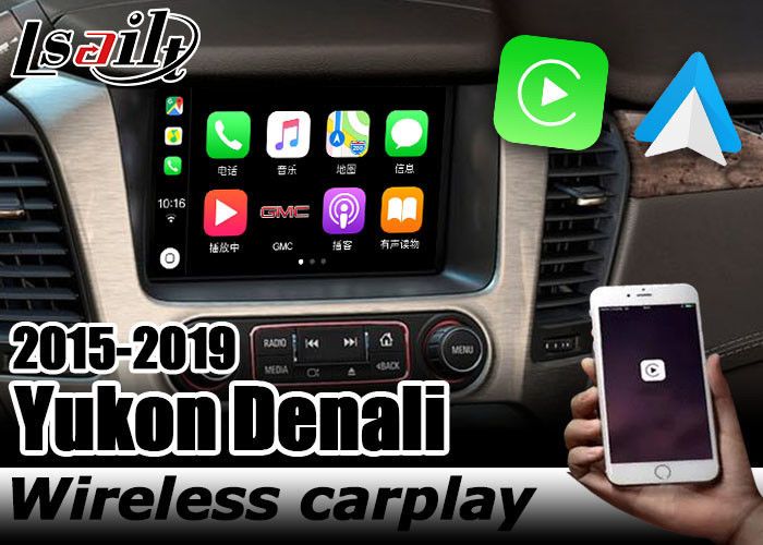 Carplay Interface For Gmc Yukon Denali Android Auto Interface Youtube Play By Lsailt Navihome