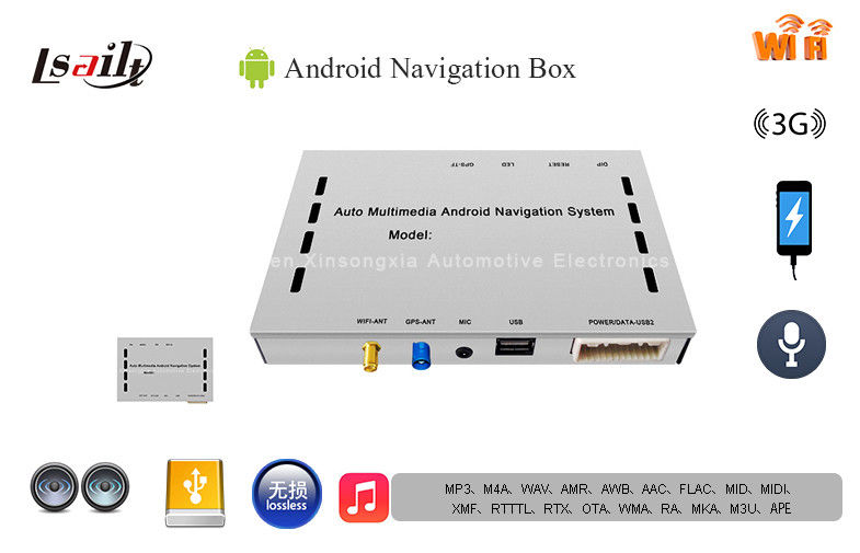Plug and Play Multilanguage Car Android GPS Navigation Box 7
