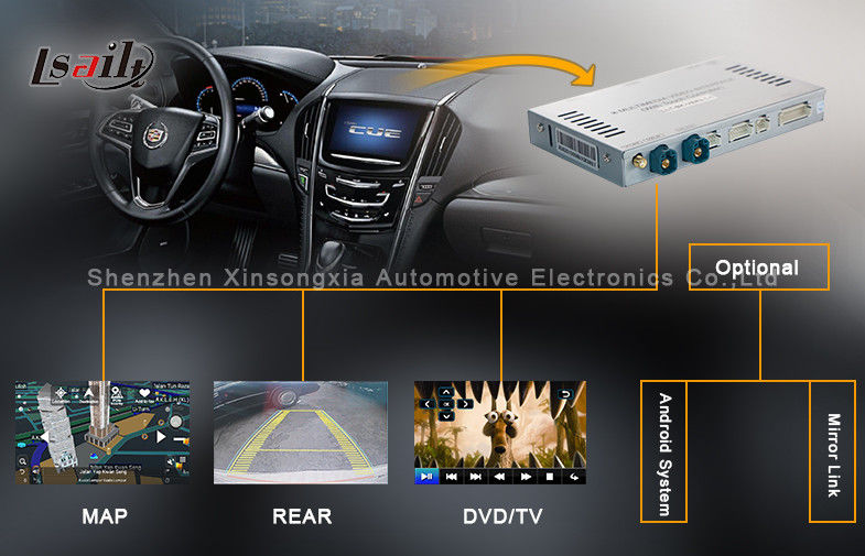 WINCE 6 0 Cadillac Navigation Video Interface Box with TV