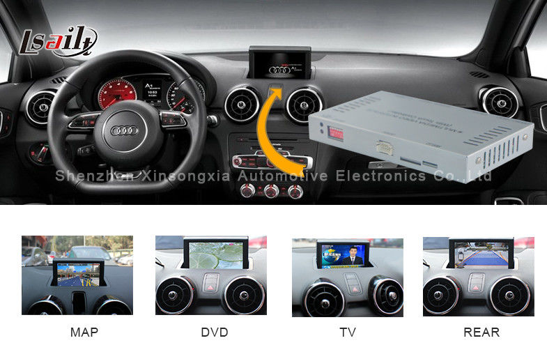 2012 2015 audi a1 q3 media interface with touch navigation and dvd. Black Bedroom Furniture Sets. Home Design Ideas
