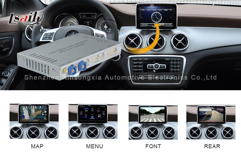 Multimedia Mercedes Benz Comand Navigation System , Car GPS