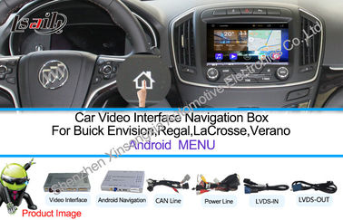 China WIFI / TMC Android Car Interface Multimedia Navigation System For Buick 800 * 480 factory