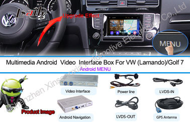 China 9-12V Android Car Interface Multimedia Navigation System For NMC Lamando Golf 7 factory