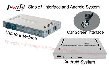 China Android 4.4 Mercedes Benz Navigation System For NTG4.5 / Google Map / Google Play factory