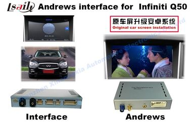 China Original Android 4.4 Car Multimedia Interface For INFINITI Q50 / Q60 factory
