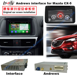 China Android 4.4 Car Multimedia Video Interface For 2016 Mazda3/6/ CX -3 / CX -5 factory