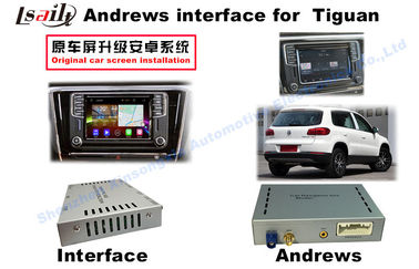 China Interface Gray Car Navigation Box For 2014- Volkswagen Tiguan Ect 3G Wifi Android System factory