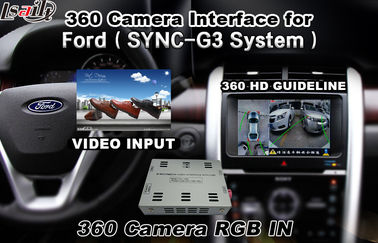 China Ford Bluetooth Reversing Camera Interface For 360 Degree Camera , Android Navigation distributor