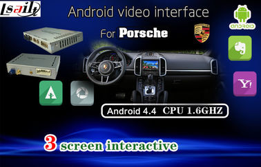 Porsche PCM3.1 Android Auto Interface , Car GPS Navigation System for 8 Inch Car DVD