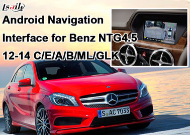 China Quad-Core Android navigation box + Video Interface for Benz A , B , C, E Series with Built-in Mirrorlink factory