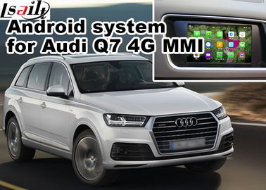 China GPS Android Navigation Box Video Interface For 2016 Audi A4 Q7 4G MMI Waze Youtube Wifi factory