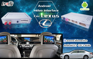 China Android 5.1 6.0 GPS Navigation Video Interface Box For New Toyota & Lexus IS ES NX RX GX LX distributor