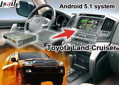 China Toyota Land Cruiser LC100 LC200 Android Navigation Video Interface Upgrade Touch Navigation WIFI distributor