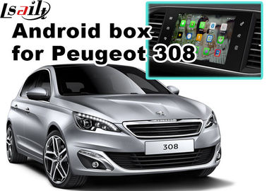 China Peugeot 208 2008 308 3008 508 Audio Video Interface SMEG+ MRN SYSTEM Upgrade WIFI BT Mirror Link factory