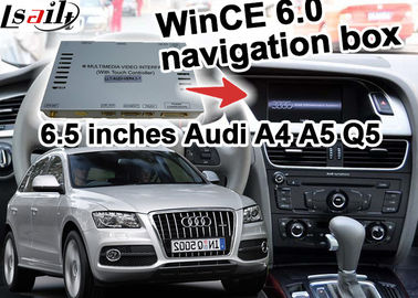 China Touch offline Navigation Interface For 2009-2015 AUDI A5 A4 A6 A1 A7 A8 Q3 Q5 Q7 distributor