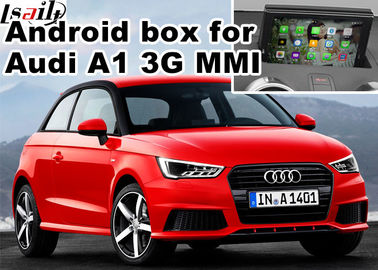 China Android navigation box interface for Audi A1 3G MMI video mirror link cast screen factory