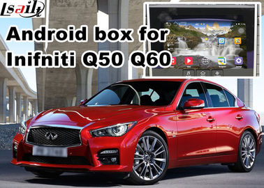 China Navigation Video Interface for 2015-2016 Infiniti Q50 Q60 Andorid services, online navigation video play distributor