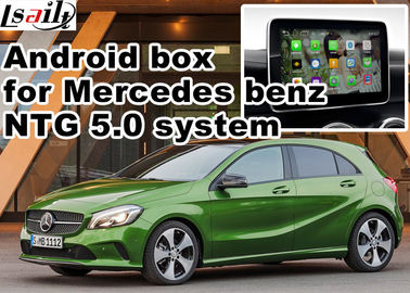 China Android car gps navigation box interface for Mercedes benz  A class ( NTG 5.0 ) mirrorlink distributor