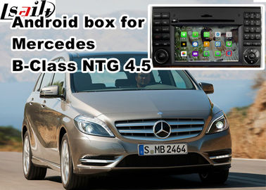 China Mercedes benz B class mirror link android car navigation 8 or 16 GB ROM NTG 4.5 factory