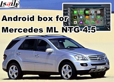 China Android os car navigation box video interface for Mercedes benz ML mirrorlink web video music play factory
