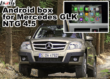 China Mercedes Benz GLK Gps Navigator Android Mirrorlink Rearview Video Play 1.6 GHz Quad Core factory