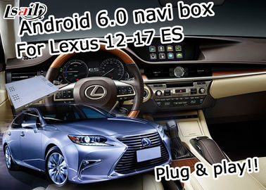 China ES250 ES350 ES300h Lexus Video Interface , Android 6.0 Car Navigation Box distributor