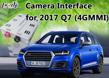 China Dynamic Parking Guideline Reverse Camera Interface for AUDI Q7 support 360 Panorama Cameras distributor