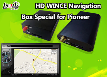 China Pioneer Car GPS Navigation Box for Support Stereo Audio / DVD / MP3 MP4 Based on WINCE 6.0 factory