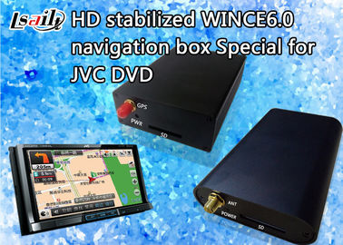 China 800*480 JVC Car Navigation Box with Bluetooth / Stereo Audio / DVD Player / FM MP3 MP4 factory