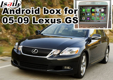 China Lexus GS300 GS430 2005-2009 Car Navigation Box , mirror link video interface rear view factory