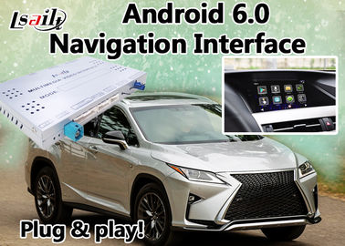 Android 6.0 Navi Lexus Video Interface Box for 2012-2017 RX450 RX350 RX270 with Mirrorlink