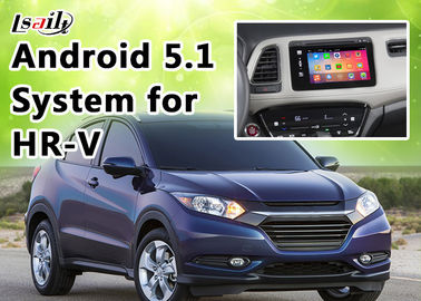China 1.6GHZ 4 Core Andorid 6.0 GPS Honda Video Interface for HR - V support Google Play distributor